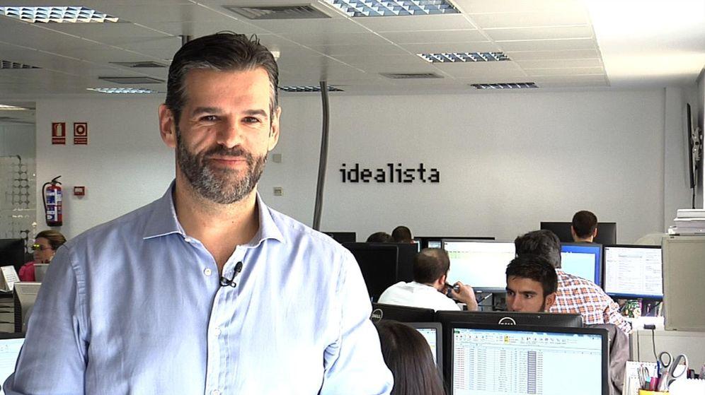 Foto: Fernando Encinar, socio fundador y jefe de estudios de Idealista.