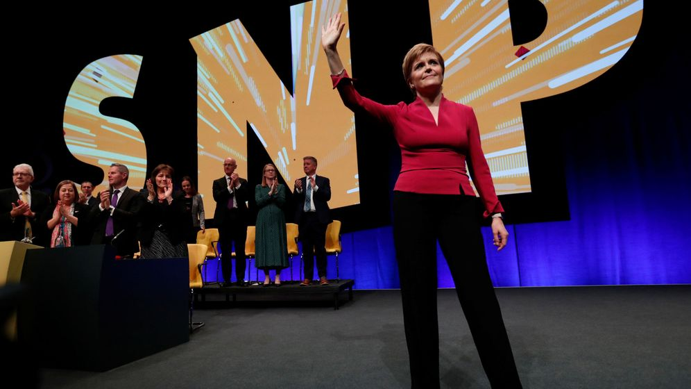 Foto: La ministra principal escocesa, Nicola Sturgeon. (Reuters)