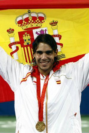 Nadal gana el primer oro del tenis español