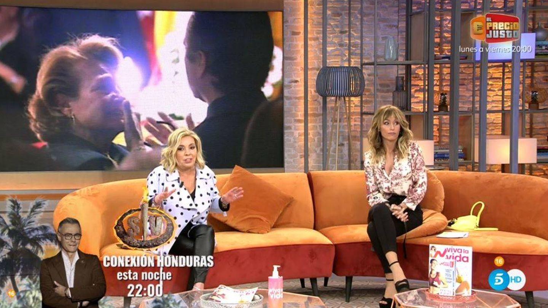 Carmen Borrego y Emma García, en 'Viva la vida'. (Mediaset España)