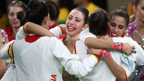 Plata que sabe a oro para el equipo de gimnasia rítmica en los Juegos de Río