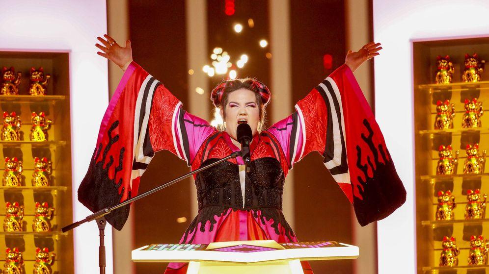 Foto: Netta da la cuarta victoria a Israel en Eurovisión con 'Toy'. (Eurovision.tv)