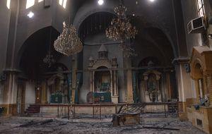 Al Asad y Al Qaeda, juntos en el ataque de símbolos cristianos