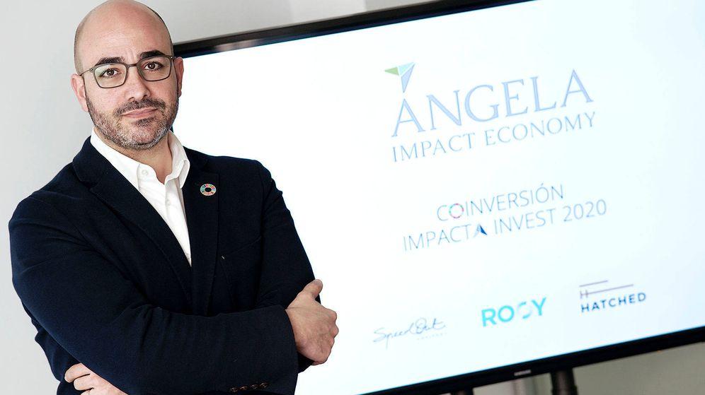 Foto: Raúl Mir, cofundador de Ángela Impact Economy