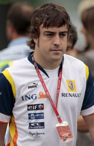 Alonso, en busca del fin de semana pletórico