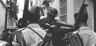 """Post de Semana Santa en Málaga, 1978: un """"carnaval"""" militar con música nazi y circo"""