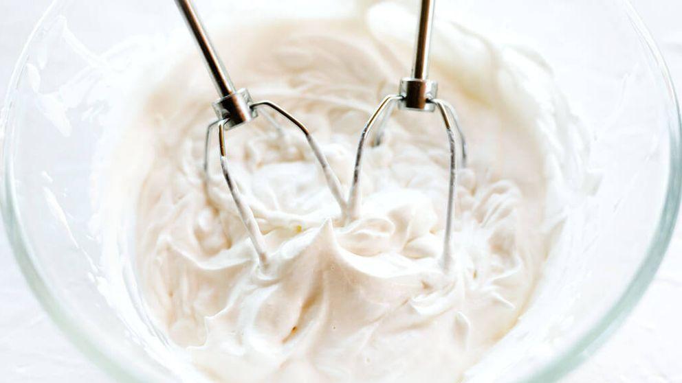 Truco: aprende a montar la nata como en una pastelería