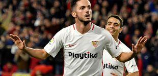Post de El reincidente caso de Pablo Sarabia para volar del Sevilla