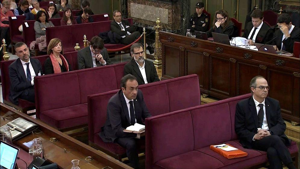 Foto: Banquillo durante el juicio del TS. (EFE)