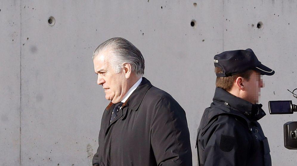 Foto: Bárcenas llega a la Audiencia Nacional. (EFE)