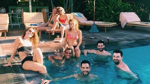 Ana Fernández, feliz e ilusionada, de vacaciones en La Palma
