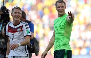 La columna Alemania, a olvidar su peor recuerdo: el 0-4 del Madrid
