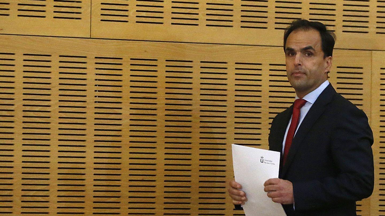 El rector de la Universidad Rey Juan Carlos, Javier Ramos. (EFE)