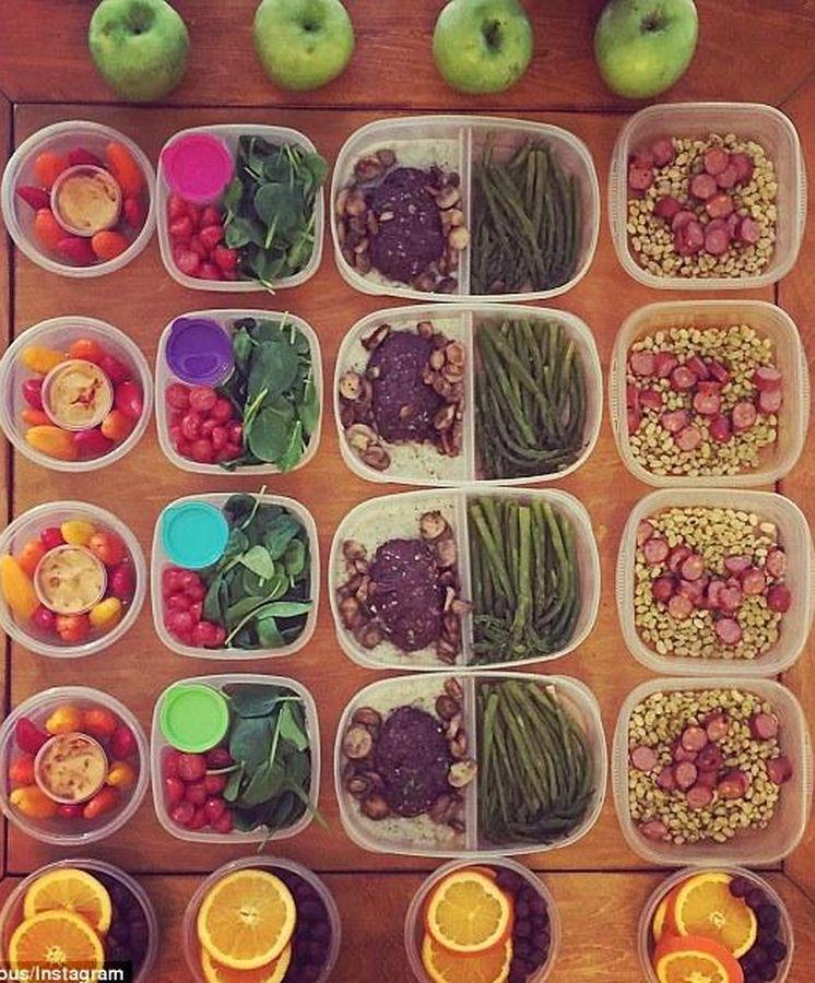 Nutrici n meal prepping la nueva tendencia para for Organizar comida semanal