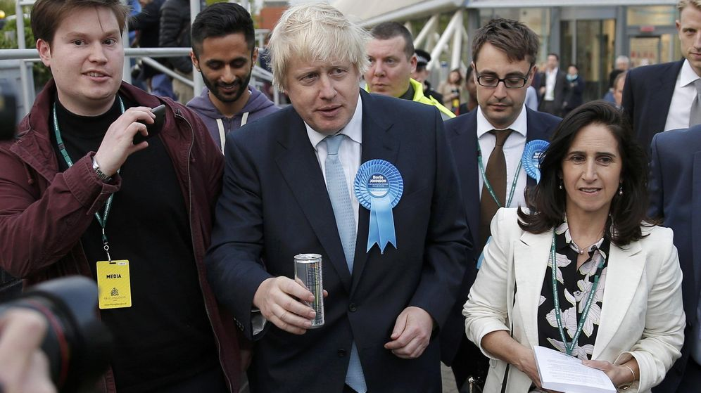 Foto: Boris Johnson en 2015, cuando ganó su escaño en el Parlamento por la circunscripción de Uxbridge. (Reuters)