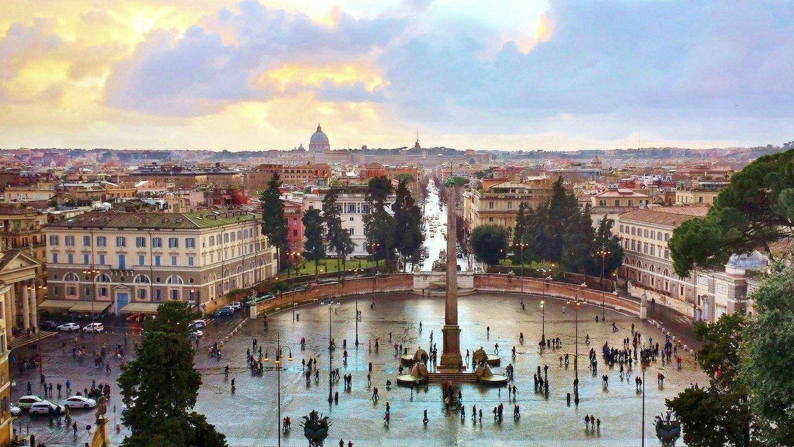 Foto: Vistas de la ciudad de Roma (Flickr/Moyan Brenn)