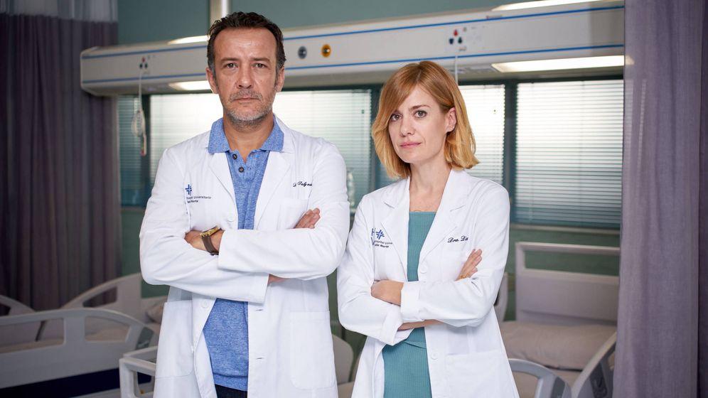 Foto: Alexandra Jiménez y José Luis García. FOTO: Manuel Fiestas (TVE)