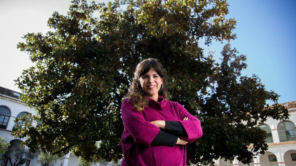 Foto: La candidata de Adelante Andalucía a la presidencia de la Junta, Teresa Rodríguez. (Fernando Ruso)