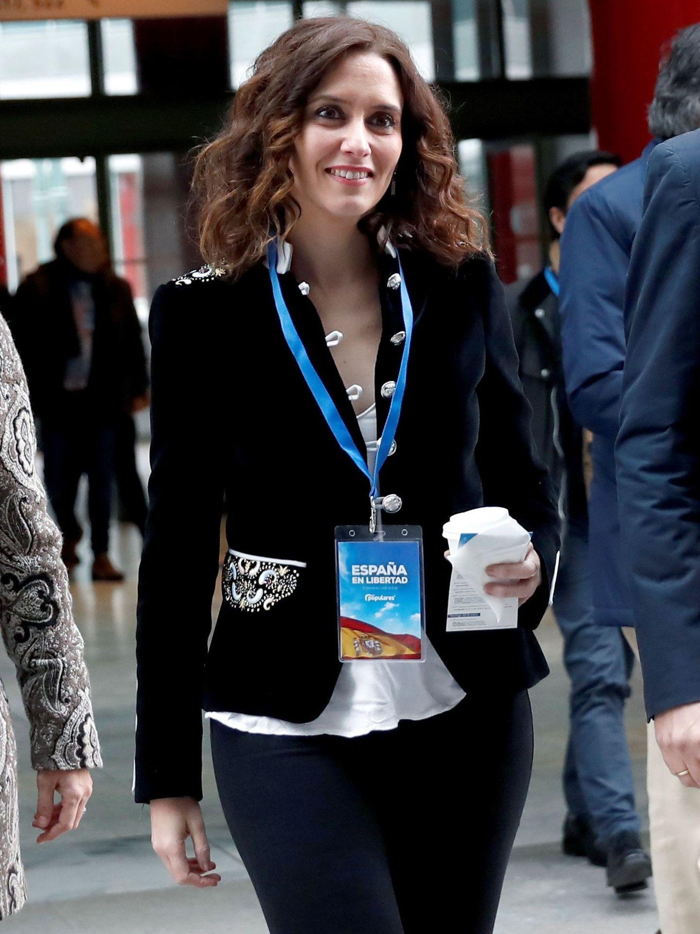 La candidata del PP de Madrid, Isabel Díaz Ayuso.