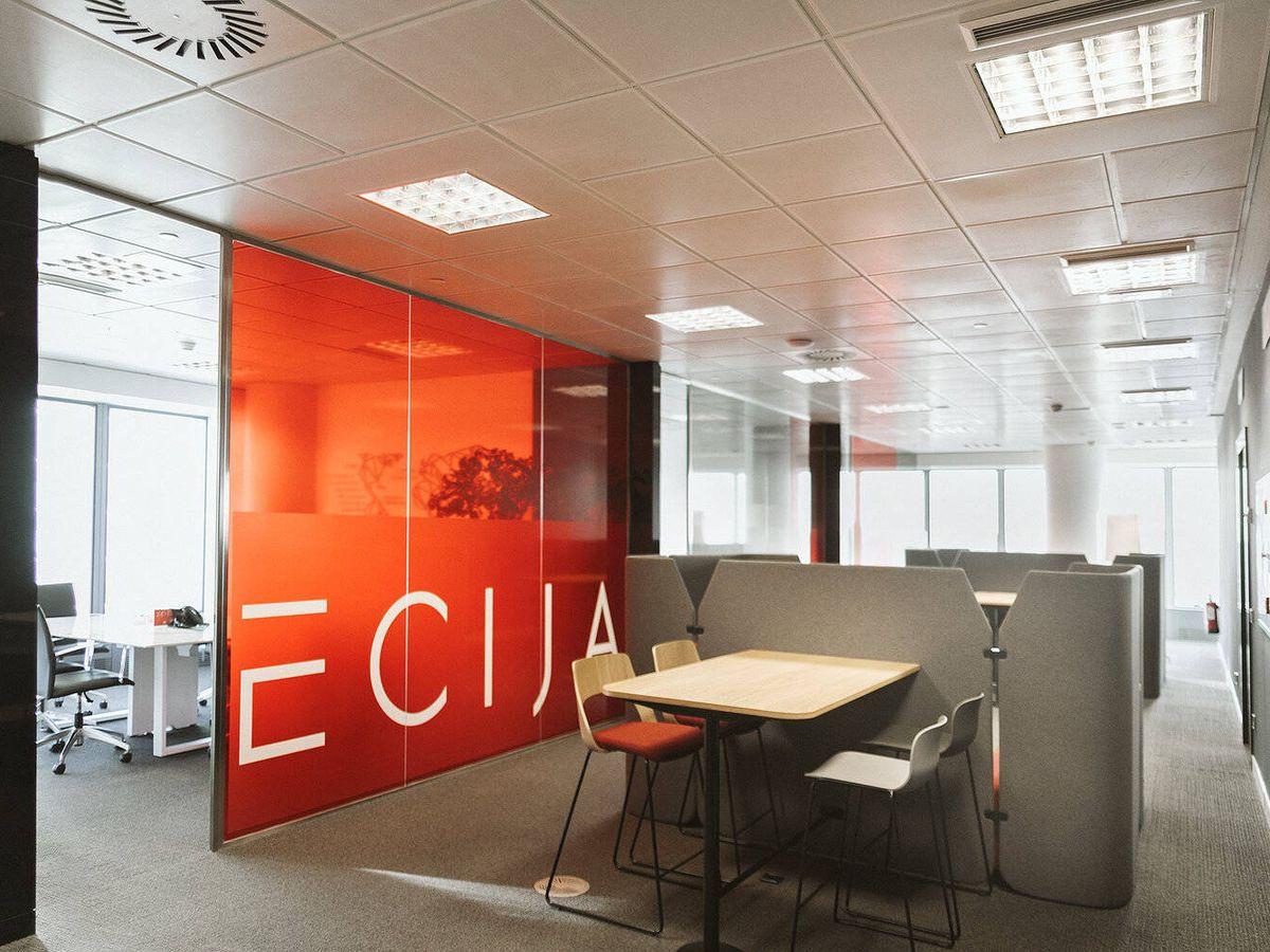 Foto: Oficina de Ecija en Madrid.