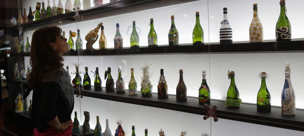 Foto: Botellas de cava en la feria Alimentaria de Barcelona. (Reuters)