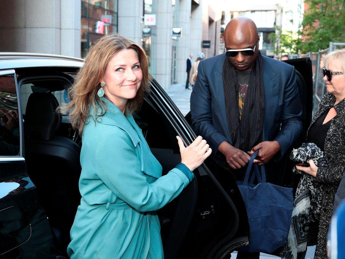 Foto: La princesa Marta Luisa y su novio, en una imagen de archivo. (Reuters)