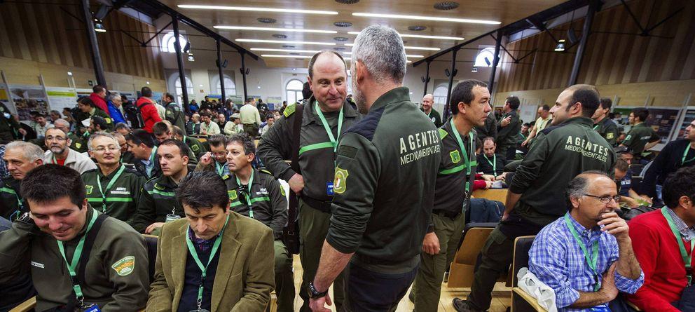 Foto: II Congreso Nacional de Agentes Forestales y Medioambientales, celebrado en 2013. (Efe)