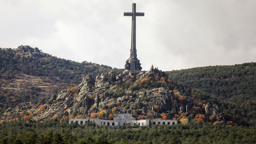 Foto: Vista general del Valle de los Caídos. (Reuters)