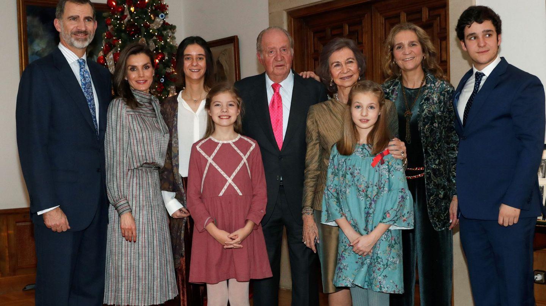 El 80 cumpleaños del rey Juan Carlos. (Efe)