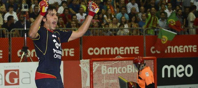 "Foto: Jordi Bargalló, el gran héroe español del hockey patines que juega ""para ser feliz""."