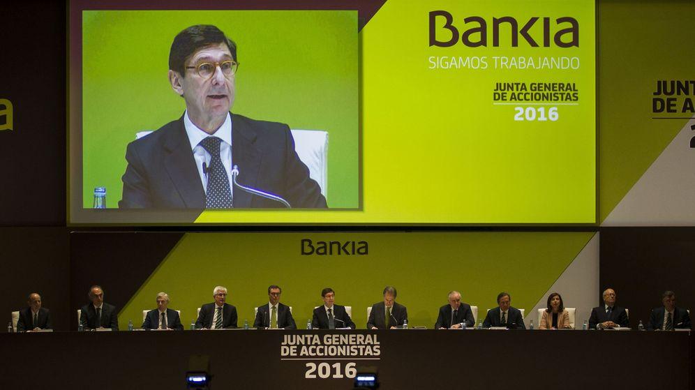 Foto: Junta General de Accionistas de Bankia.