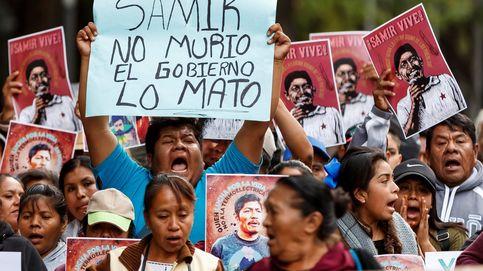 Protestan por el crimen contra el activista Samir Flores