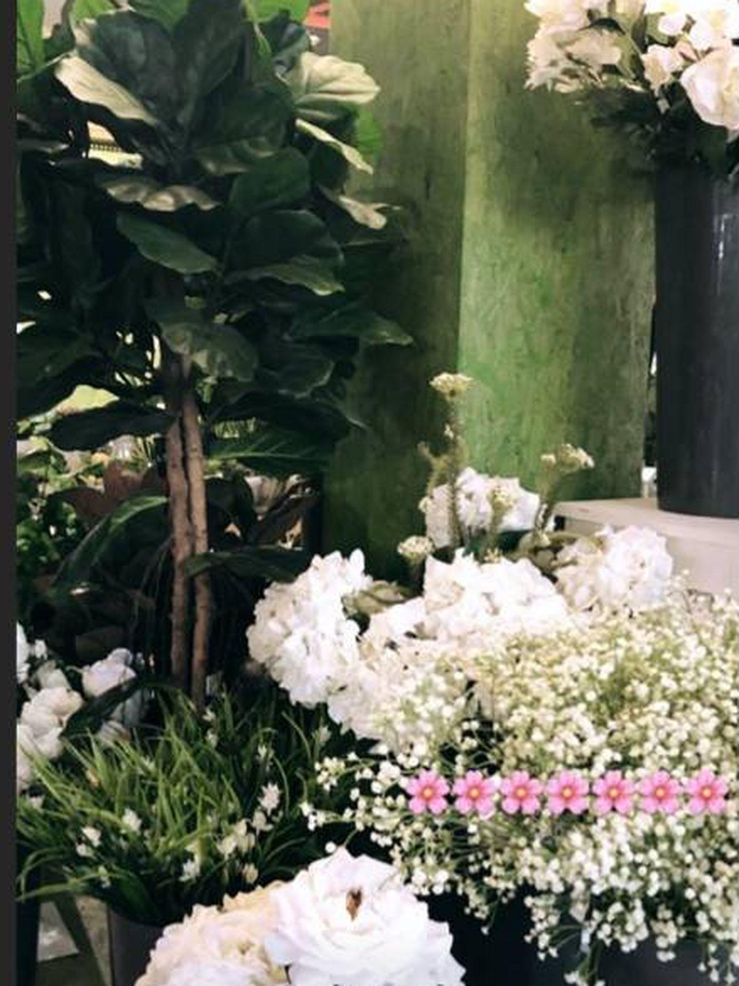 Las flores de Sandra. (Instagram)