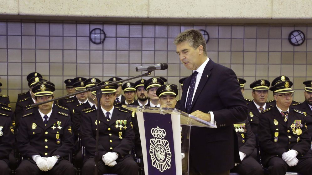 Foto: El director general de la Policía, Ignacio Cosidó (EFE)