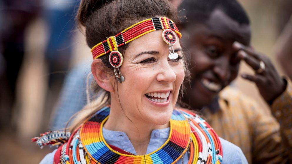 Mary de Dinamarca, más natural y espontánea que nunca en Kenia