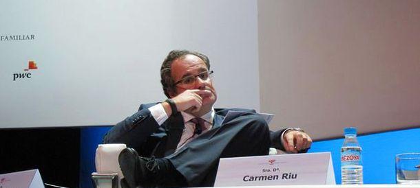 Foto: El presidente de la cervecera Damm, Demetrio Carceller.