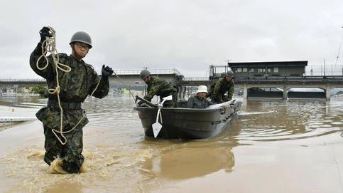 Casi doscientos muertos por inundaciones en Japón