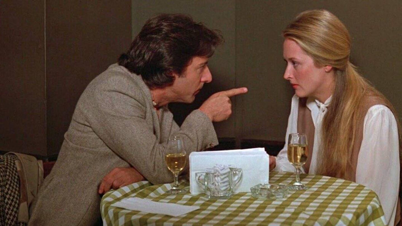 Dustin Hoffman y Meryl Streep en 'Kramer contra Kramer'.