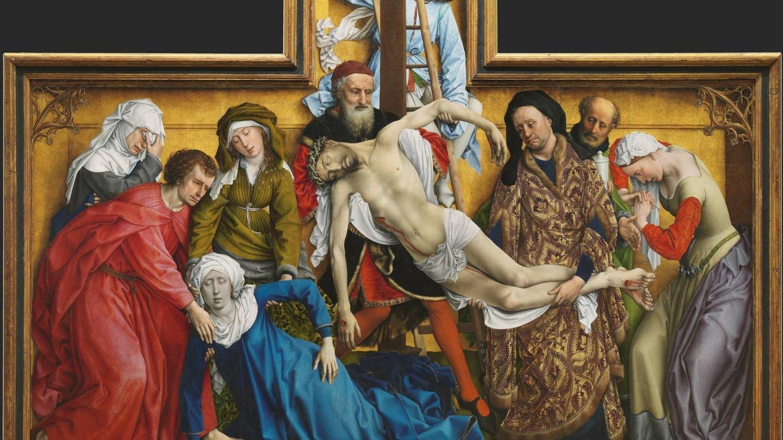 'El Descendimiento', Rogier van der Weyden, 1443. Museo del Prado.