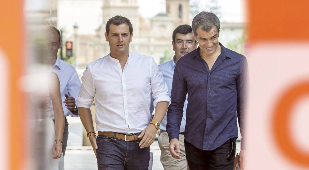 Foto: Albert Rivera y Toni Cantó quieren conquistar Valencia. (EFE)