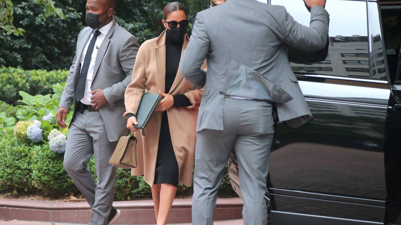 Meghan y Harry, royals de alfombra roja en NY: la comentada imagen con sus escoltas