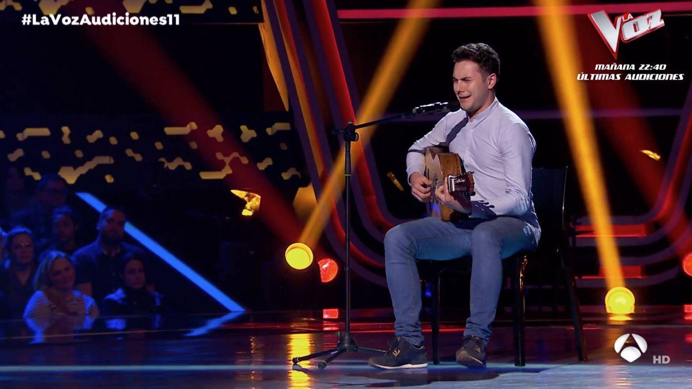Su madre y sus tías representaron a España en Eurovisión y él probó suerte en 'La Voz'