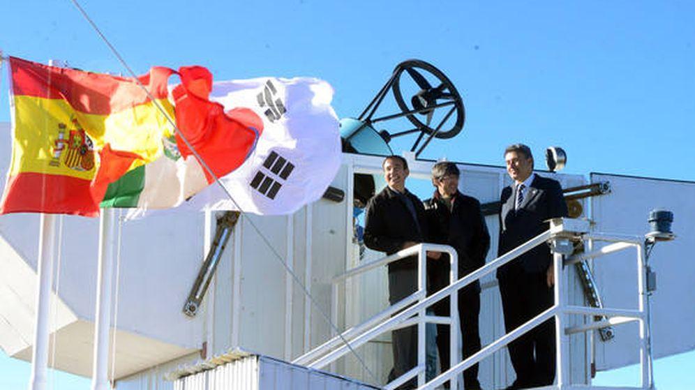 Foto: Inauguración del telescopio en homenaje a Javier Gorosabel que realizó la detección de rayos gamma y ondas gravitacionales (IAA-CSIC)