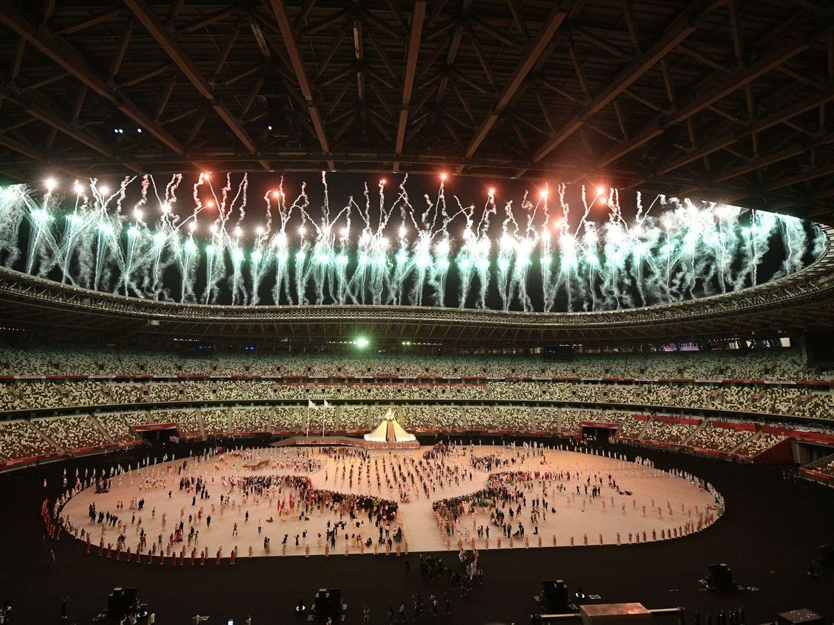 Foto: Inauguración de los Juegos Olímpicos de Tokio 2020. (EFE)