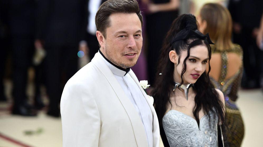 Foto:  Elon Musk y Grimes, papás. (Getty)