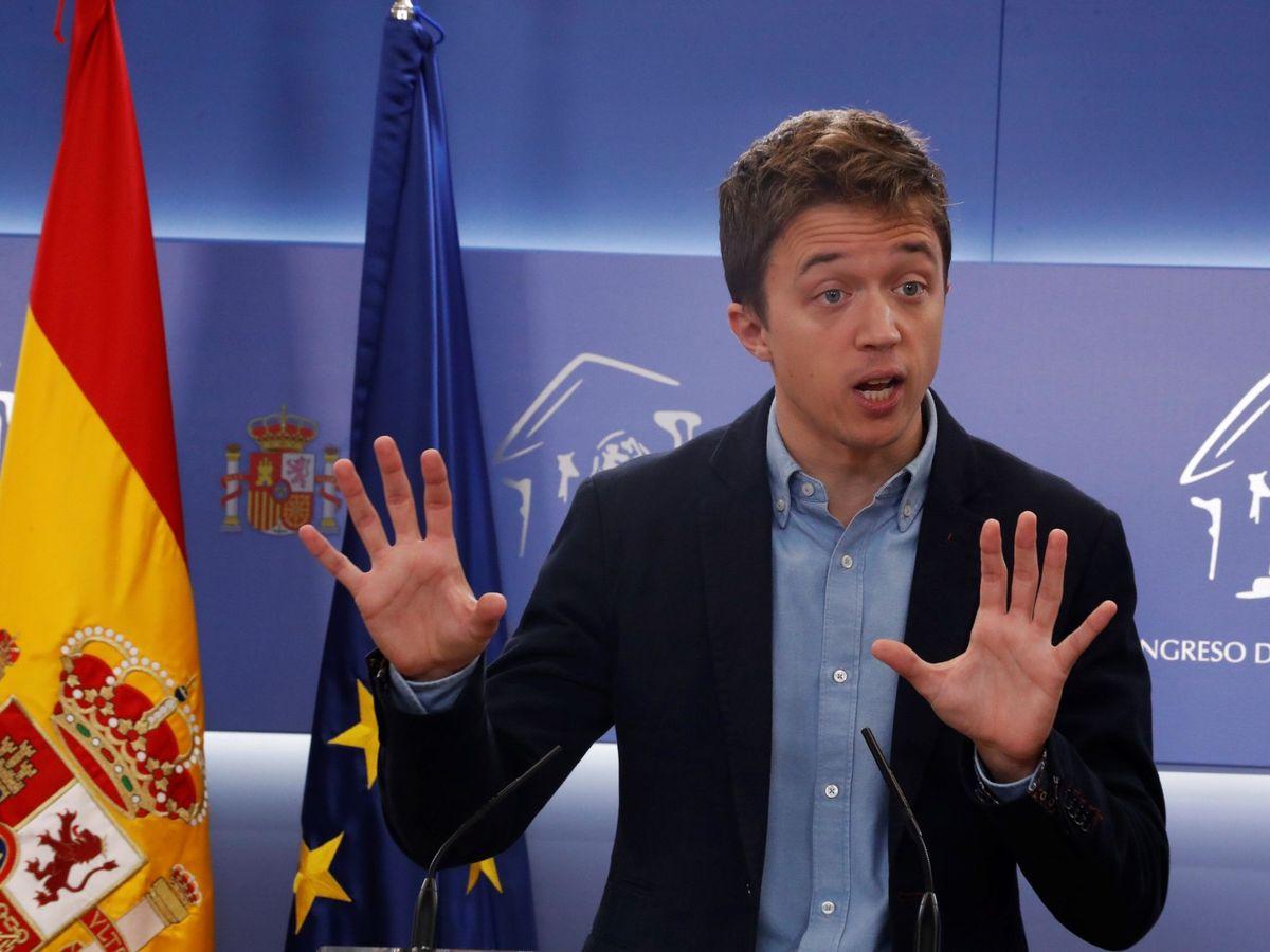 Foto: El líder de Más País, Íñigo Errejón. (EFE)