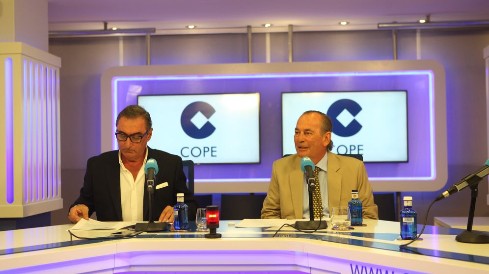 Foto: Herrera y Rafael Pérez del Puerto, consejero delegado de COPE (Cope).
