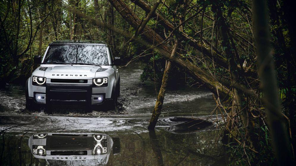 Foto: El nuevo Land Rover Defender es más tecnológico