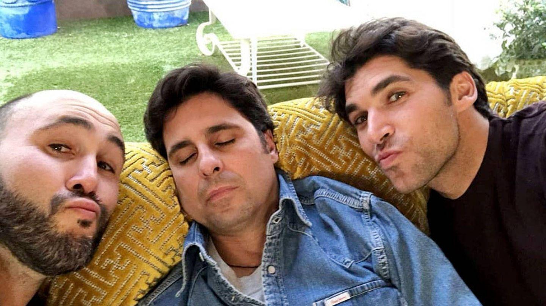 Los hermanos Rivera (Kiko, Francisco y Cayetano), en una imagen de Instagram.