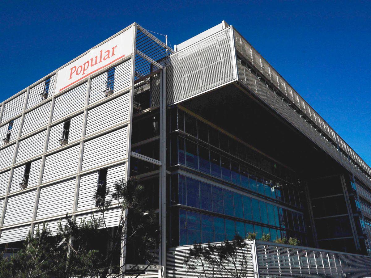 Foto: Antigua sede del Banco Popular.